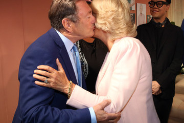 Alan Titchmarsh Camilla, Duchess of Cornwall Visits ITV Studios To Mark Their 60th Anniversary