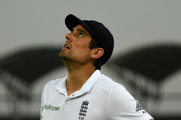 Alastair Cook Bangladesh v England - Second Test: Day Three