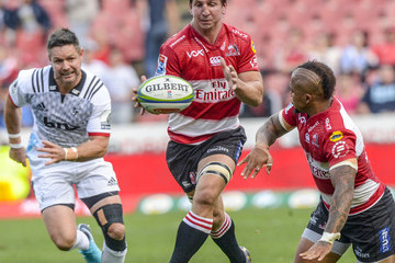 Albertus Kwagga Smith Super Rugby Rd 7 - Lions vs. Crusaders
