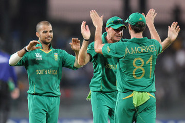 Albie Morkel Pakistan v South Africa - ICC World Twenty20 2012: Super Eights Group 2