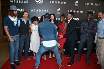 Aldis Hodge WGN America's FYC Emmy Screening