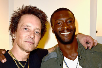 Aldis Hodge VIP Opening Reception For 'Dis-Ease' - An Evening of Fine Art With Billy Morrison