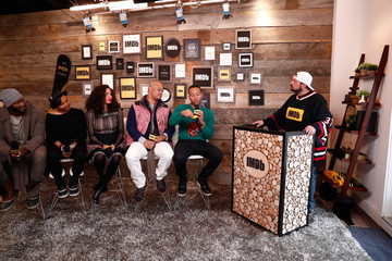 Aldis Hodge Jurnee Smollett-Bell The IMDb Studio at the 2017 Sundance Film Festival Featuring the Filmmaker Discovery Lounge, Presented by Amazon Video Direct: Day Two - 2017 Park City