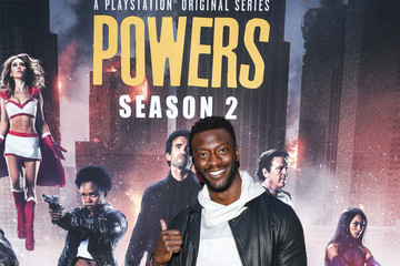 Aldis Hodge 'Powers' Premiere