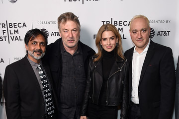 Alec Baldwin Hilaria Baldwin 'Crown Vic' - 2019 Tribeca Film Festival