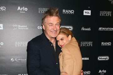 Alec Baldwin Hilaria Baldwin Reception For FRAMING JOHN DELOREAN Featuring Alec Baldwin During The Tribeca Film Festival