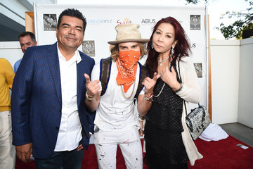 Alec Monopoly Anna Shay The 8th Annual George Lopez Celebrity Golf Classic Pre-Party