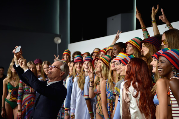 Tommy Hilfiger Women's - Backstage - Spring 2016 New York Fashion Week: The Shows [shows,stock photography,people,crowd,youth,event,fun,performance,cheering,hand,party,audience,models,tommy hilfiger,julia jamin,lineisy montero,angel rutledge,tommy hilfiger womens - backstage - spring,bella hadid,new york fashion week,bella hadid,lily-rose depp,stock photography,getty images,timoth\u00e9e chalamet,royalty-free,color]