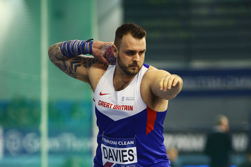 Aled Davies Indoor British Championships - Day Two