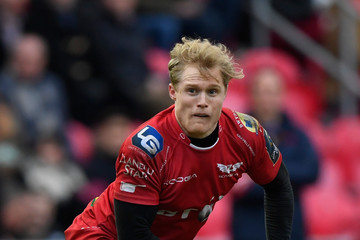 Aled Davies Scarlets v Saracens - European Rugby Champions Cup
