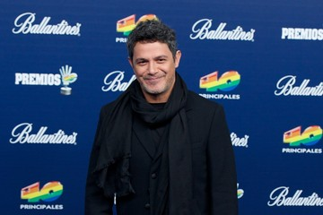 Alejandro Sanz '40 Principales Awards' 2013 - Red Carpet