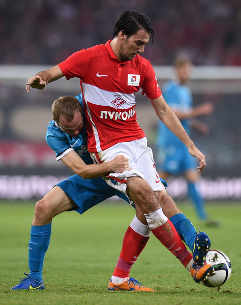 Spartak Moscow vs Zenit St. Petersburg - Russian Premier League