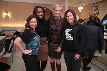 Alencia Johnson The Women's March Organizers And Conde Nast Celebrate The Launch Of Book, 'Together We Rise'