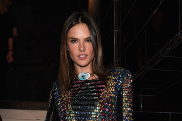 Alessandra Ambrosio Balmain : After Party - Paris Fashion Week - Menswear Spring/Summer 2017