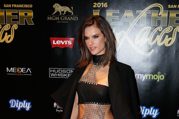 Alessandra Ambrosio The 13th Annual 'Leather & Laces' Mega Party at Super Bowl 50 - Night 2