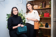 Alessandra de Osma And Moira Laporta Present Moi&Sass New Bags In Madrid