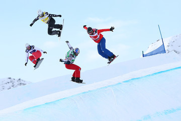 Alessandro Haemmerle FIS Freestyle Ski World Cup - Men's and Women's Snowboardcross
