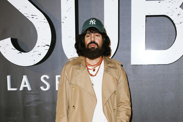 Alessandro Michele Netflix's 'Suburra the Series' Premiere in Rome