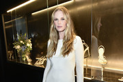 Anne Vyalitsyna attends the Alevi Milano NYFW Dinner on September 09, 2019 in New York City.