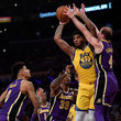 Alex Caruso Golden State Warriors vs Los Angeles Lakers
