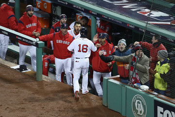 Alex Cora World Series - Los Angeles Dodgers vs. Boston Red Sox - Game Two