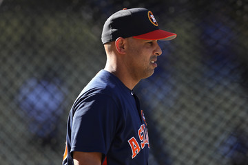 Alex Cora World Series - Houston Astros v Los Angeles Dodgers - Game One