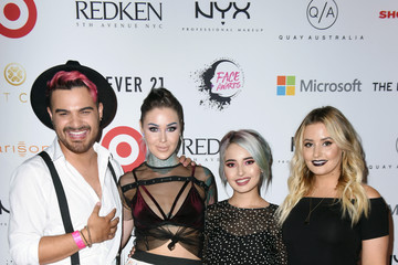 Alex Faction NYX Professional Makeup - Face Awards 2017 Expo