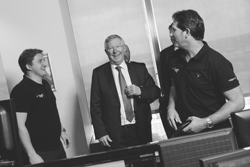 Alex Ferguson The 13th Annual BGC Charity Day at BGC Partners in London's Canary Wharf - Behind the Scenes