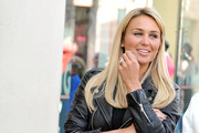 Alex Gerrard arrives to be announced as the face of Lipsy VIP at Lipsy on April 30, 2013 in Liverpool, England.