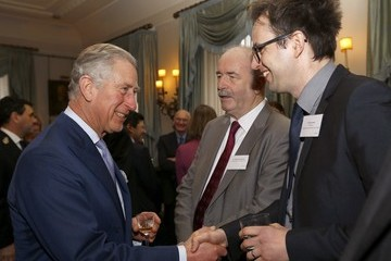 Alex Jackson Prince Charles Hosts Reception in London