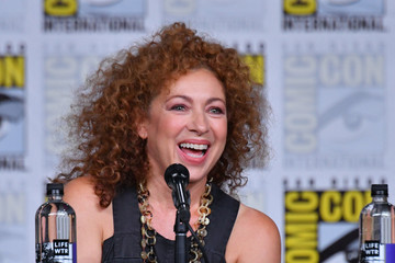 Alex Kingston Comic-Con International 2018 - 'A Discovery Of Witches' Panel