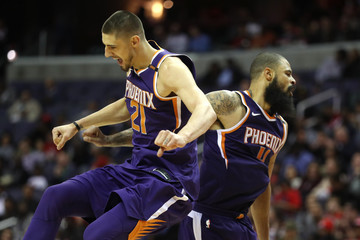 Alex Len Phoenix Suns v Washington Wizards