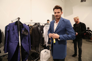 Alex Lundqvist Inaugural Blue Jacket Fashion Show to Benefit Prostate Cancer Foundation - Front Row & Backstage