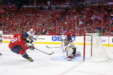 Alex Ovechkin Marc-Andre Fleury 2018 NHL Stanley Cup Final - Game Three