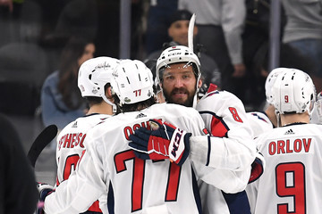 Alex Ovechkin T.J. Oshie 2018 NHL Stanley Cup Final - Game Two