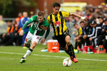 Alex Rodriguez A-League Rd 18 - Wellington v Newcastle