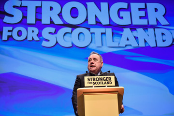 Alex Salmond The Scottish National Party Conference 2016 - Day Two