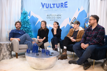 Alex Sharp The Vulture Spot At Sundance - DAY 3