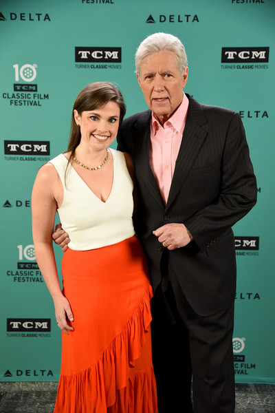 Alex Trebek and Lindsey Griffin Photos - 1 of 2