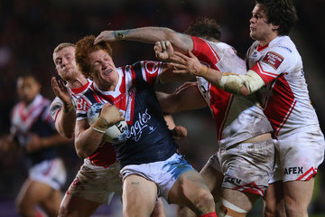 Alex Walmsley St Helens v Sydney Roosters - World Club Series