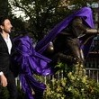 Alex Zane Harry Potter Statue Unveiling In Leicester Square