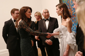 Alexa Chung The Duchess of Cambridge Attends the Portrait Gala 2017