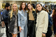 (L-R) Harley Viera-Newton, Alexa Chung, Laura Love, and Rio Viera-Newton attend the  Barbour By ALEXACHUNG Fall 2019 Collection Celebration at Nordstrom on October 10, 2019 in New York City.