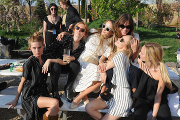 Alexa Chung Poppy Delevingne 2015 Pioneer Works 2nd Annual Village Fete