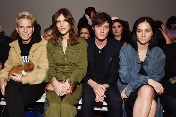 Alexa Chung Christian Cowan - Front Row - February 2018 - New York Fashion Week: The Shows