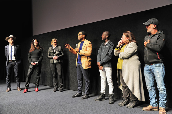 The Netflix Film 'The Boy Who Harnessed The Wind' Sundance Film Festival Park City Screening [film ``the boy who harnessed the wind,film,event,performance,heater,drama,stage,performing arts,talent show,performance art,acting,maxwell simba,alexa l. fogel,chiwetel ejiofor,andrea calderwood,l-r,screening q a,netflix,sundance film festival park city screening]