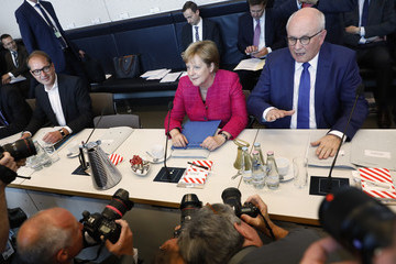 Alexander Dobrindt CDU/CSU Bundestag Faction Meets As Unity Falters