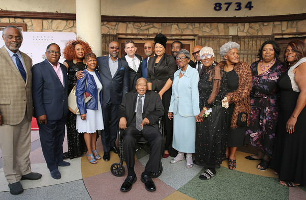 Los Angeles Premiere Of 'Amazing Grace' Presented By LA County Supervisor Mark Ridley-Thomas
