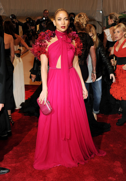 "Jennifer Lopez attends the ""Alexander McQueen: Savage Beauty"" Costume Institute Gala at The Metropolitan Museum of Art on May 2, 2011 in New York City."