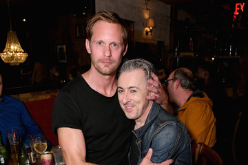 Alexander Skarsgard Audible Theater Presents A Special Performance Of 'Legal Immigrant' Starring Alan Cumming At Minetta Lane Theatre